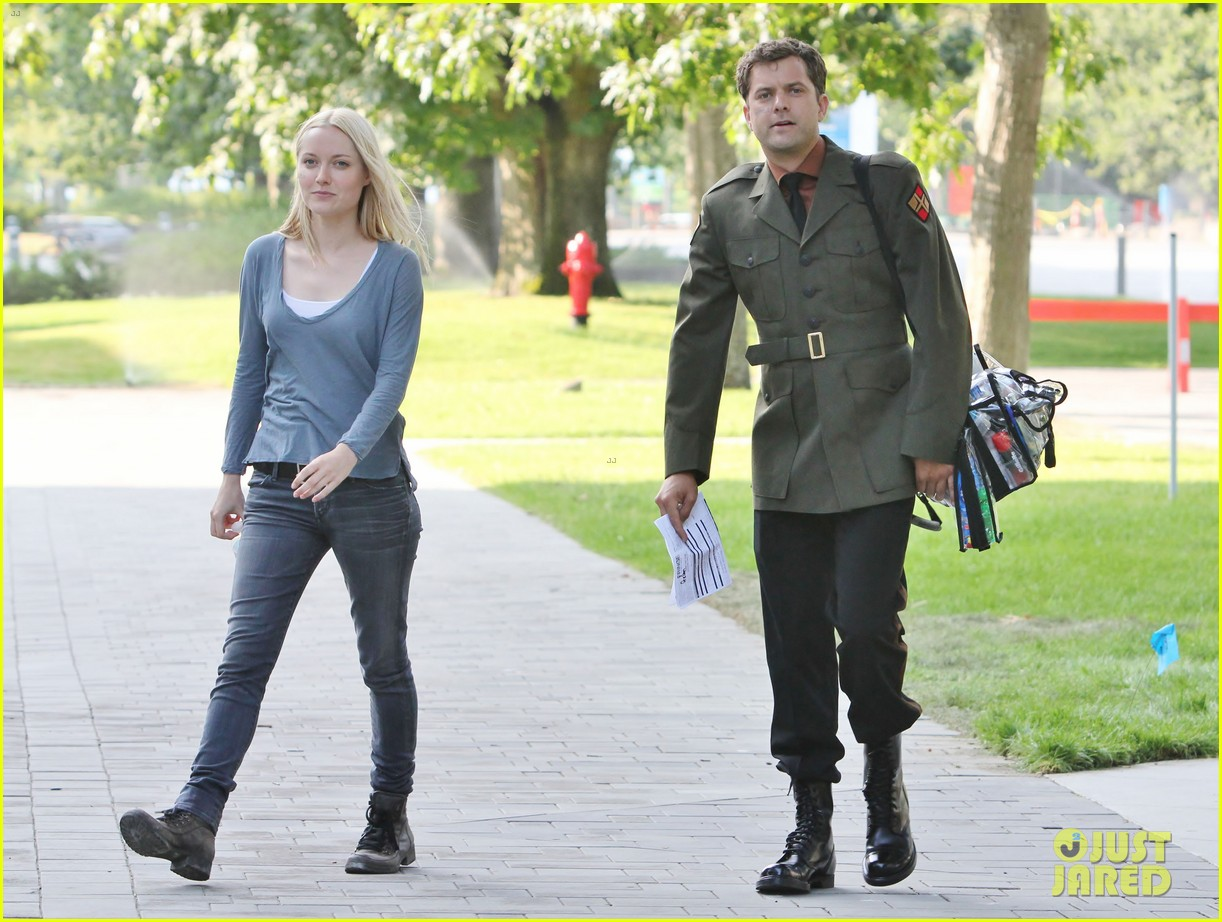joshua jackson fringe set with georgina haig 12