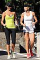 stacy keibler torrie wilson lake como joggers 01
