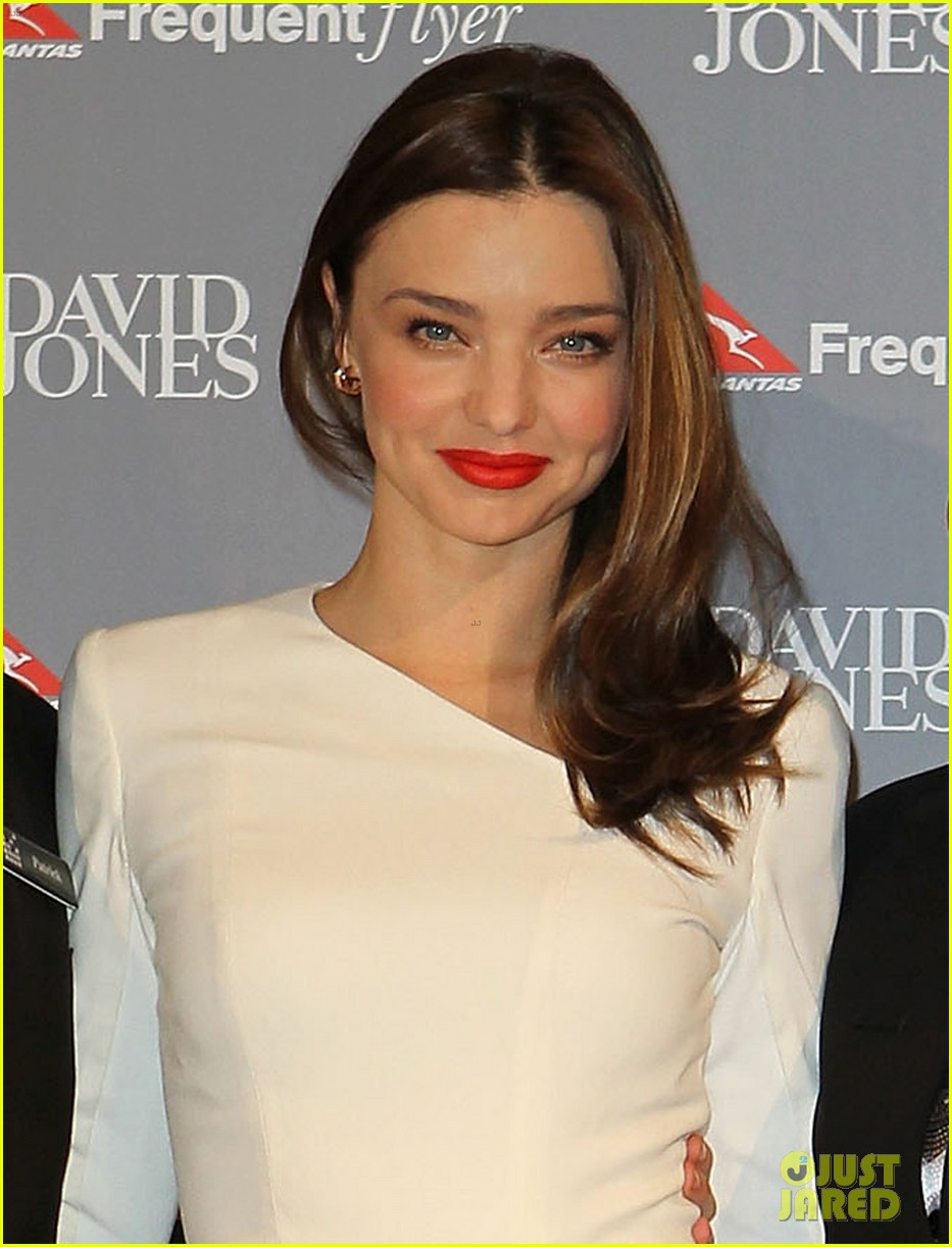 miranda kerr david jones amex press conference 02