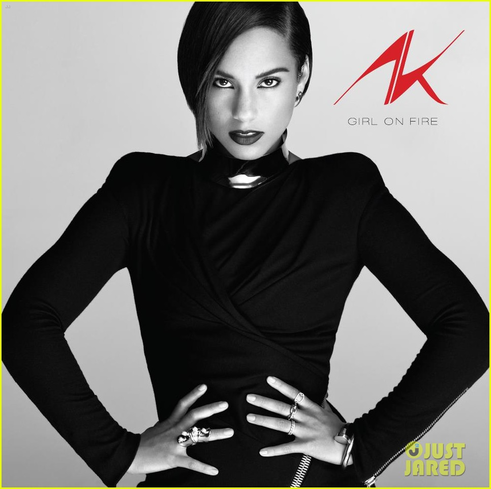 alicia keys album cover girl on fire 01
