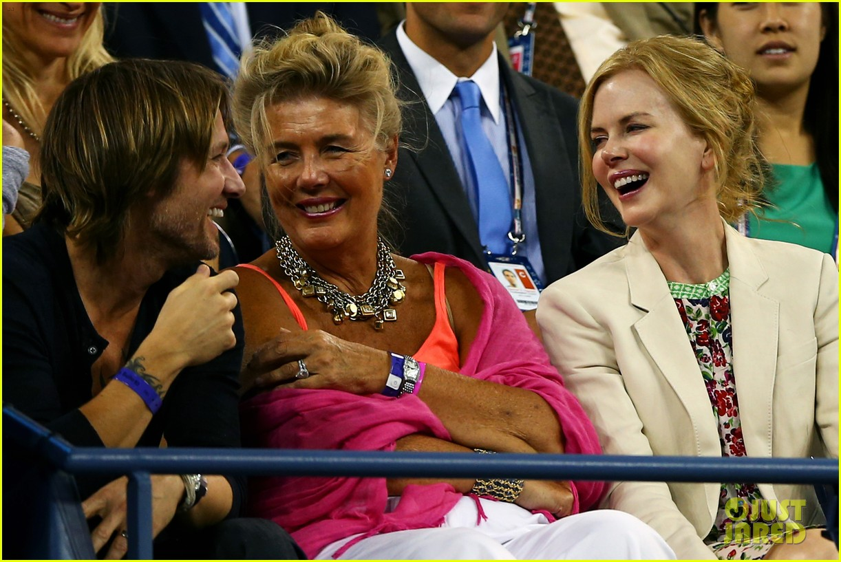 nicole kidman us open kiss with keith urban 07