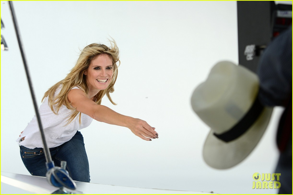 heidi klum jordache campaign revealed 34