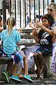 heidi klum park day with kids 03