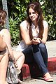 lana del rey chats outside chateau marmont 01
