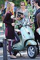 blake lively penn badgley vespa riders for gossip girl 03