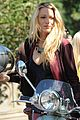 blake lively penn badgley vespa riders for gossip girl 20