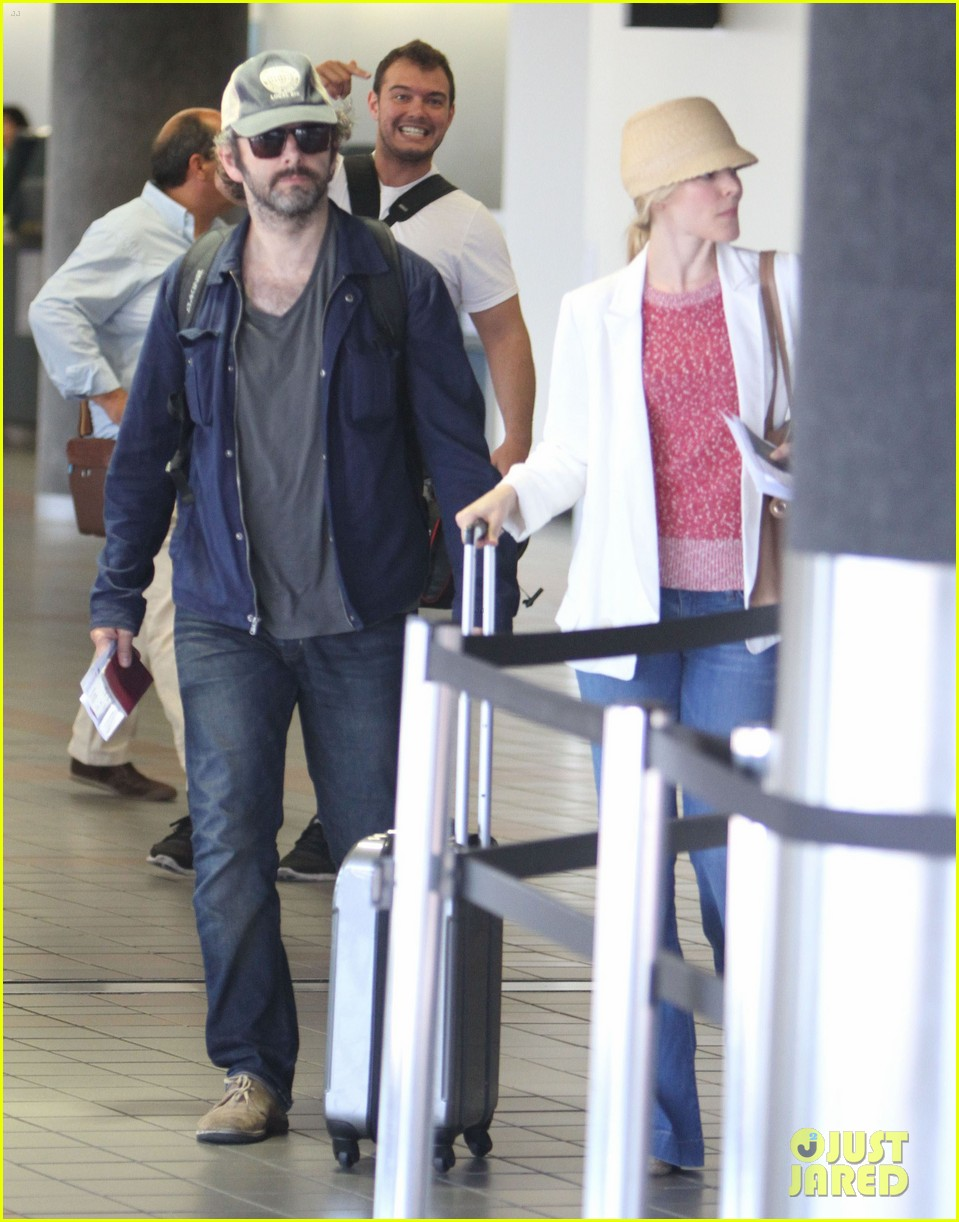 rachel mcadams michael sheen lax airport 092699740