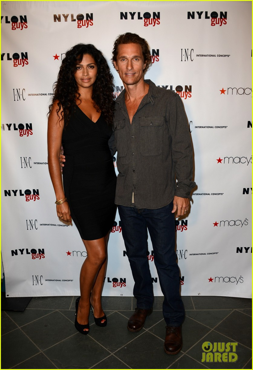 matthew mcconaughey camila alves nylon guys just keep livin 07