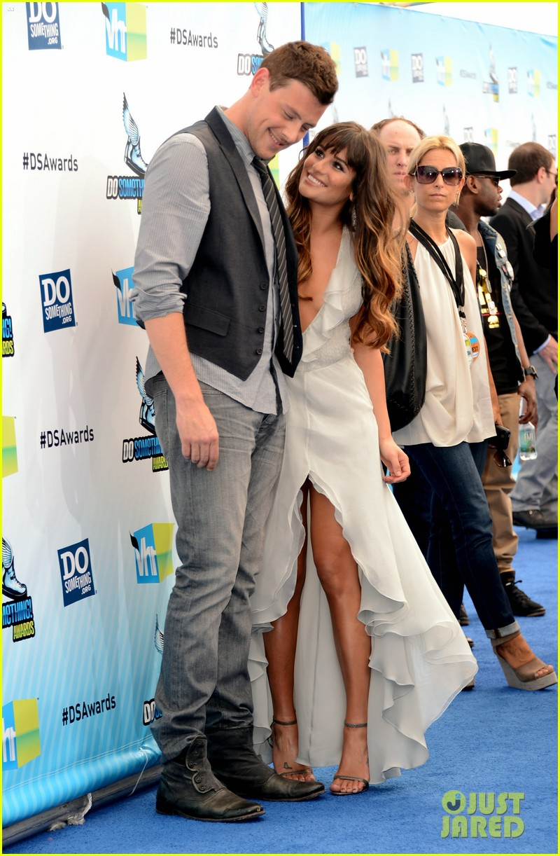 lea michele cory monteith 2012 do something awards  18