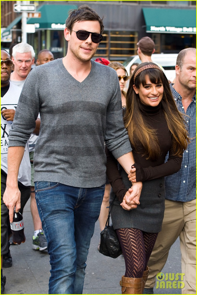 Cory Monteith and Lea Michele Their Love Through the Years - ABC News