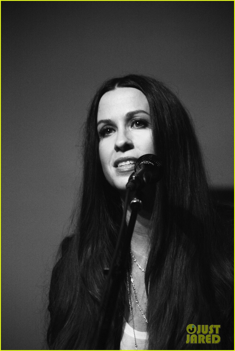 alanis morissette album listening party 10