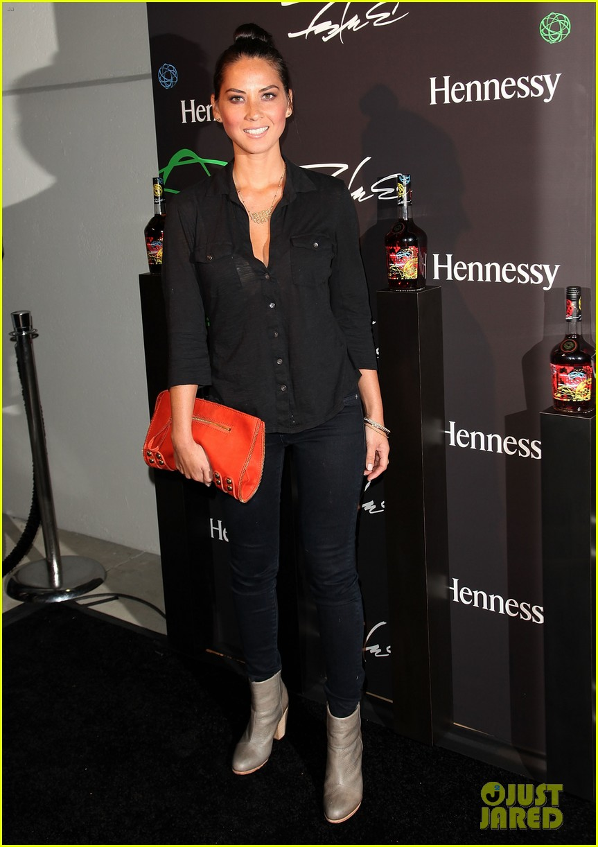 olivia munn jesse williams hennessy vs launch party 09
