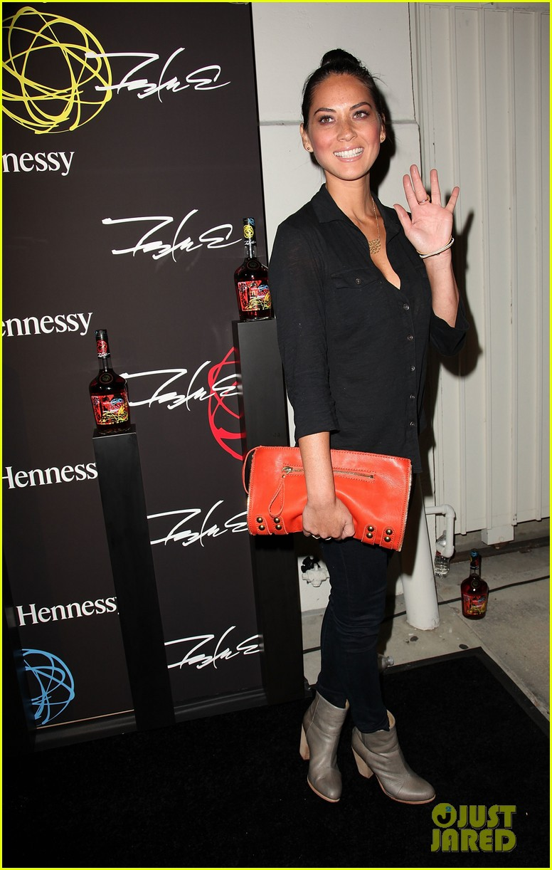 olivia munn jesse williams hennessy vs launch party 11