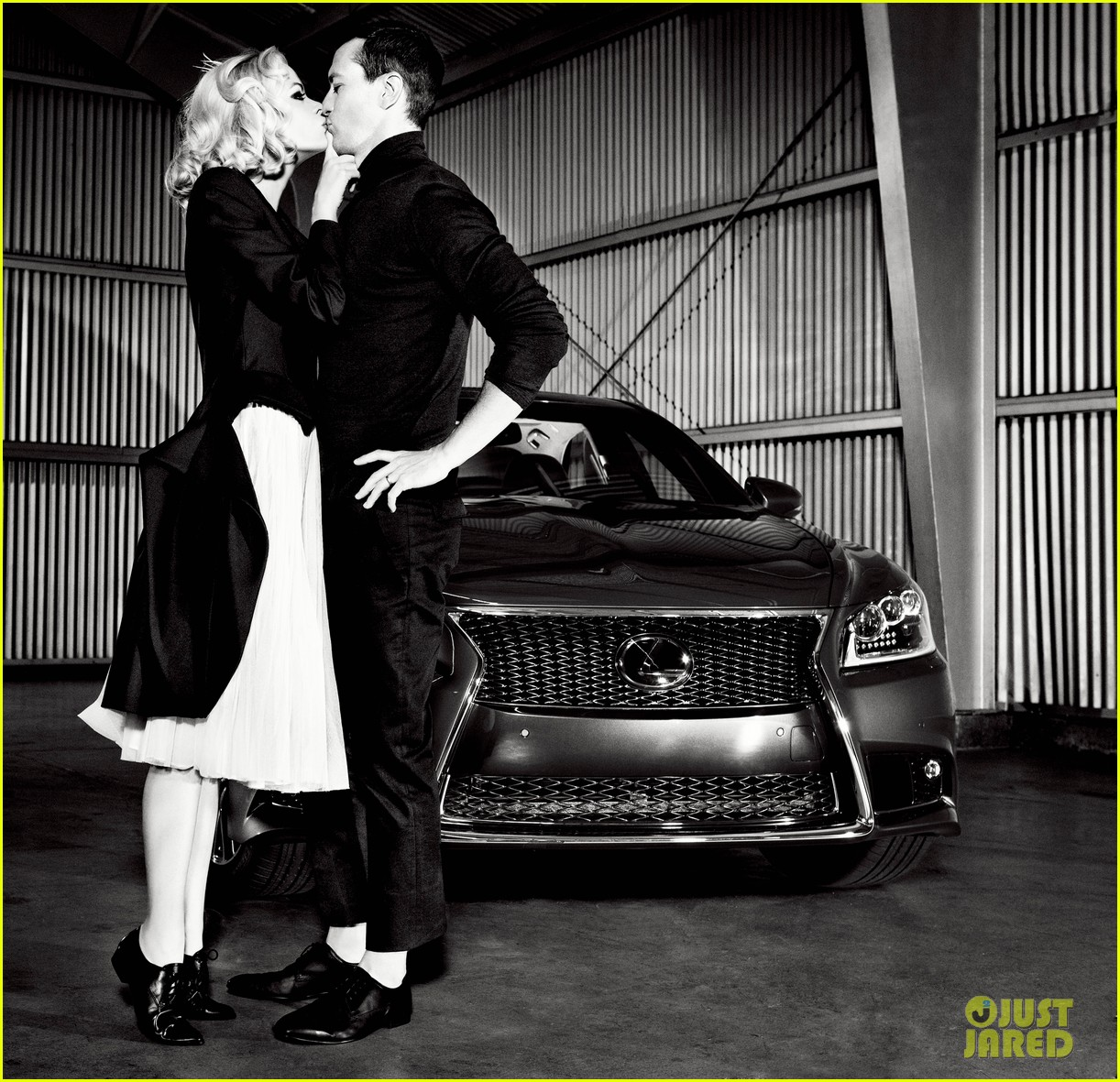 jaime king kyle newman lexus laws of attraction shoot 022695541