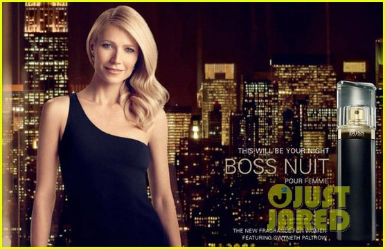 gwyneth paltrow hugo boss ad