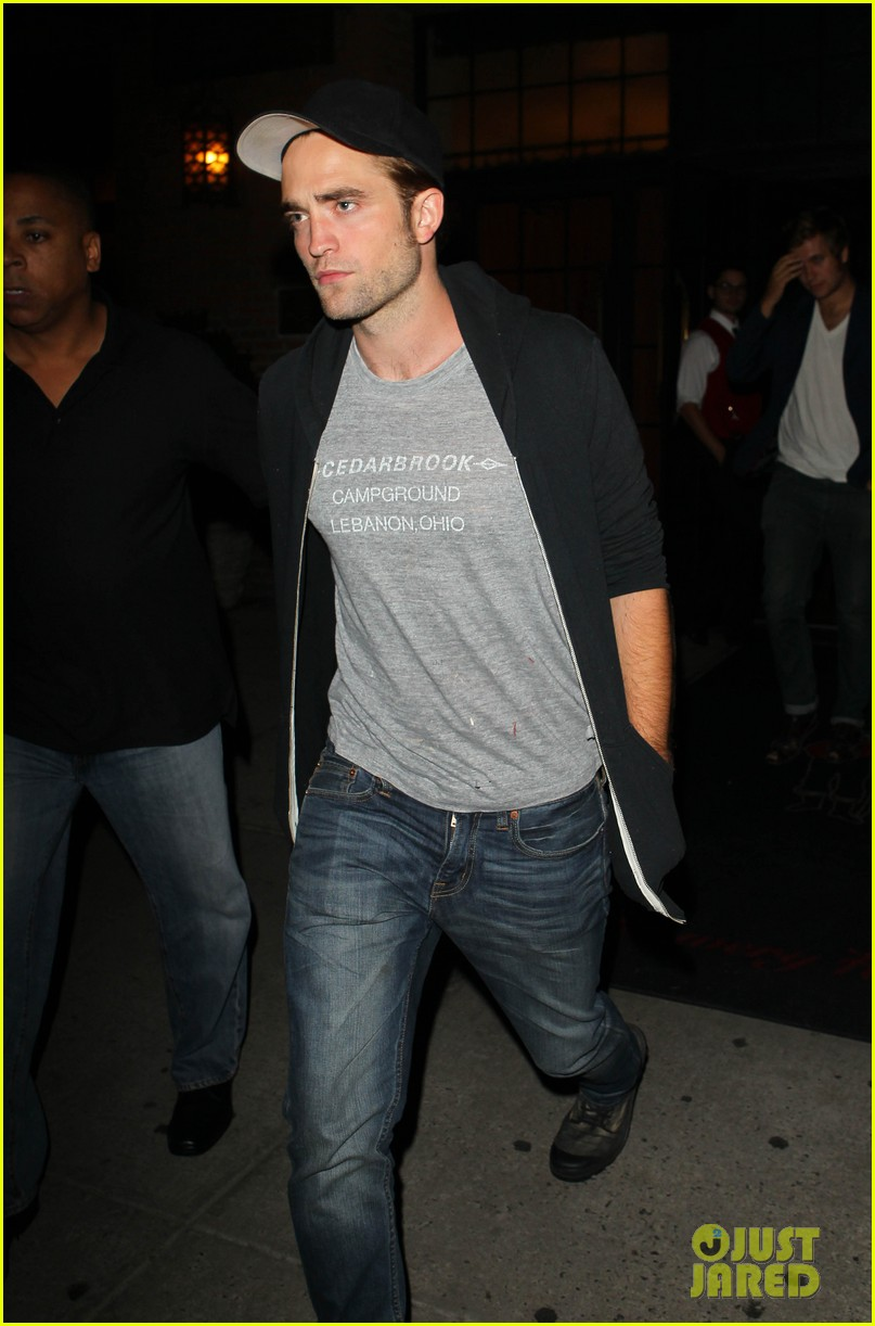 robert pattinson east village night out 01