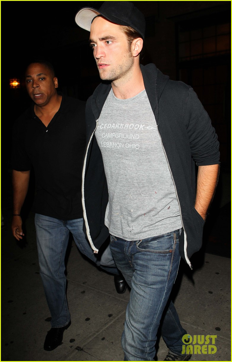 robert pattinson east village night out 04