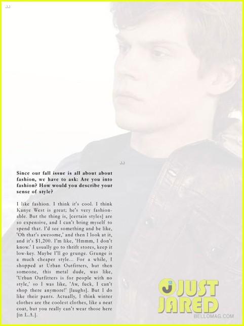 evan peters covers bello magazine 062711593