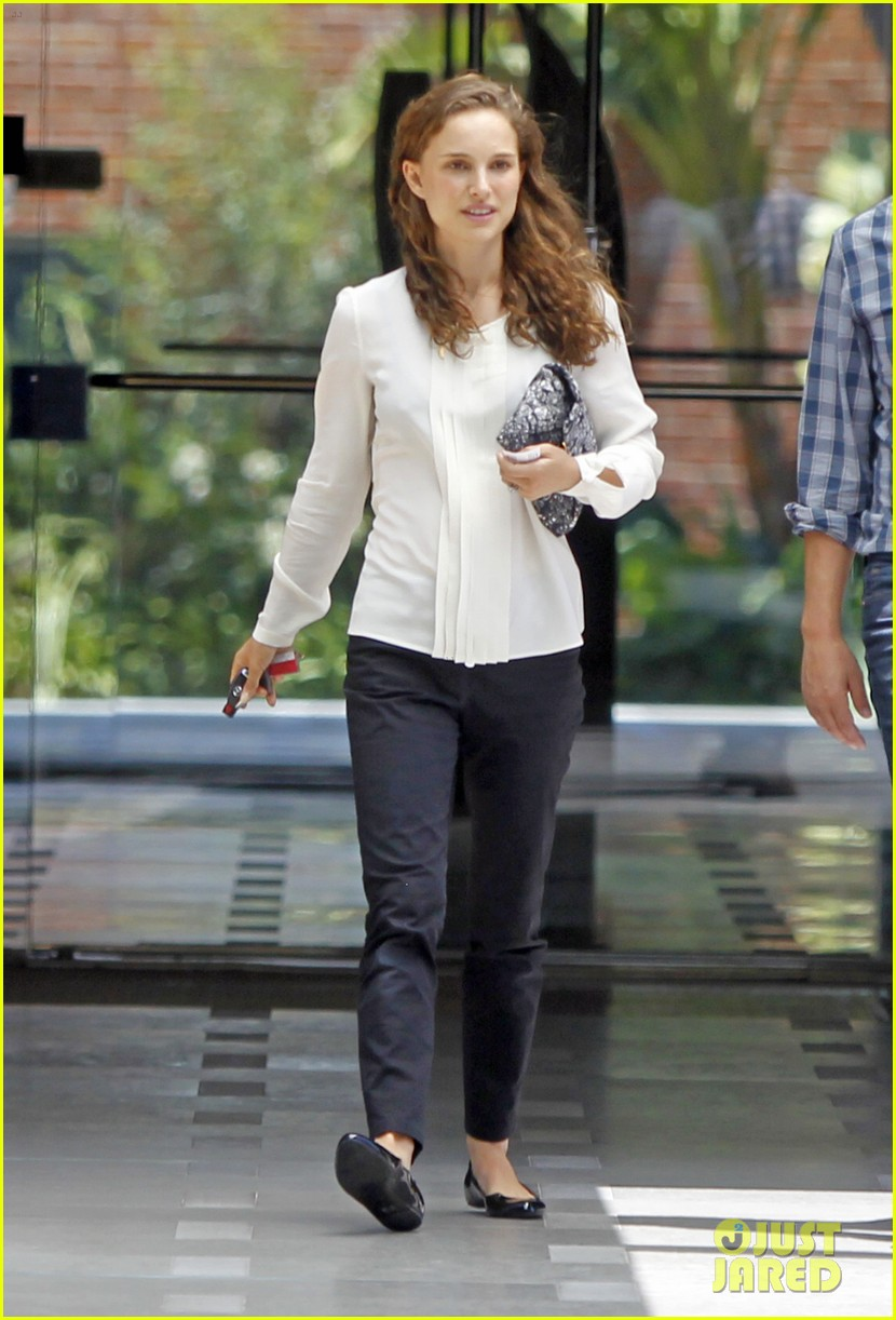 natalie portman back to work after wedding 01