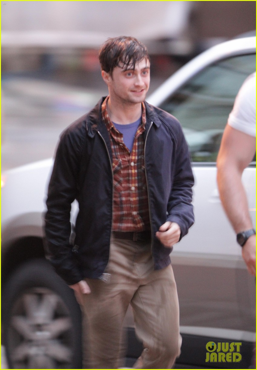 daniel radcliffe the f word filming 13