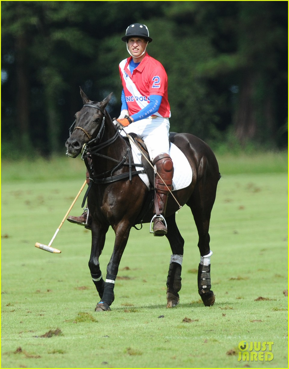 prince harry william charity polo match 04