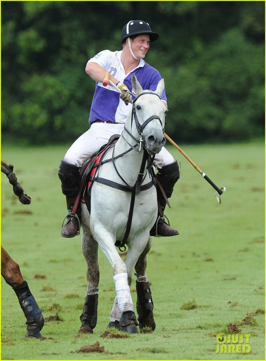 prince harry william charity polo match 05