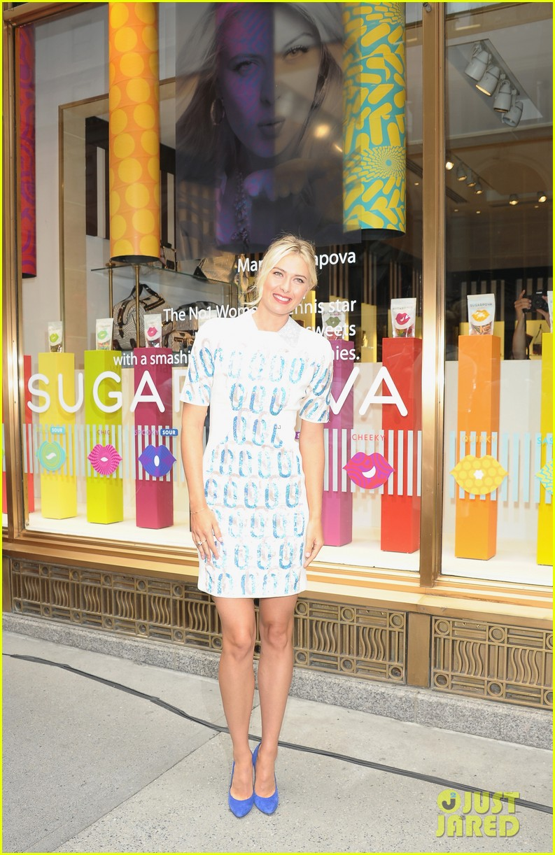 maria sharapova sugarpova launch hamptons mag cover 16