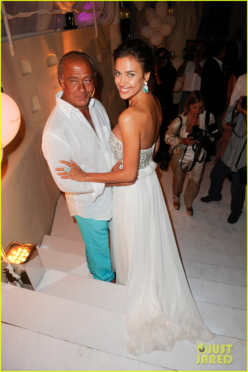 irina shayk fawaz gruosis 60th birthday bash 01