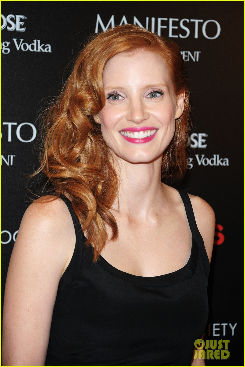 jessica chastain shia labeouf lawless nyc 02