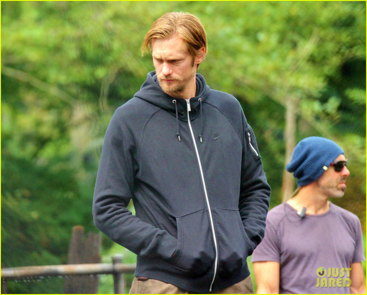 alexander skarsgard hidden set with andrea riseborough 242710480