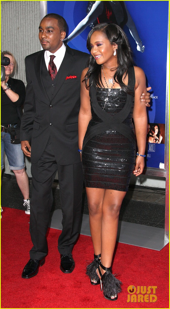 jordin sparks sparkle premiere with bobbi kristina brown 082703528