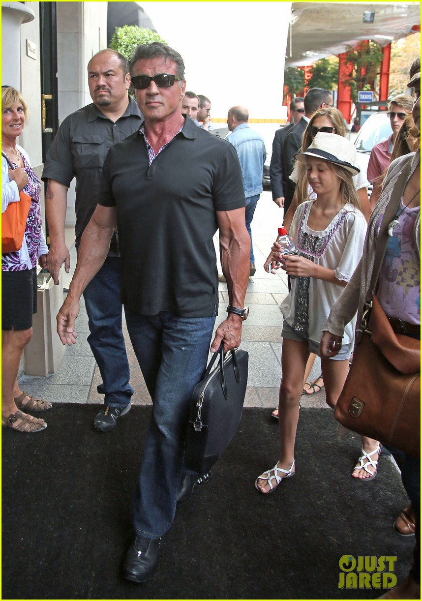 sylvester stallone family yacht vacation in cannes 05