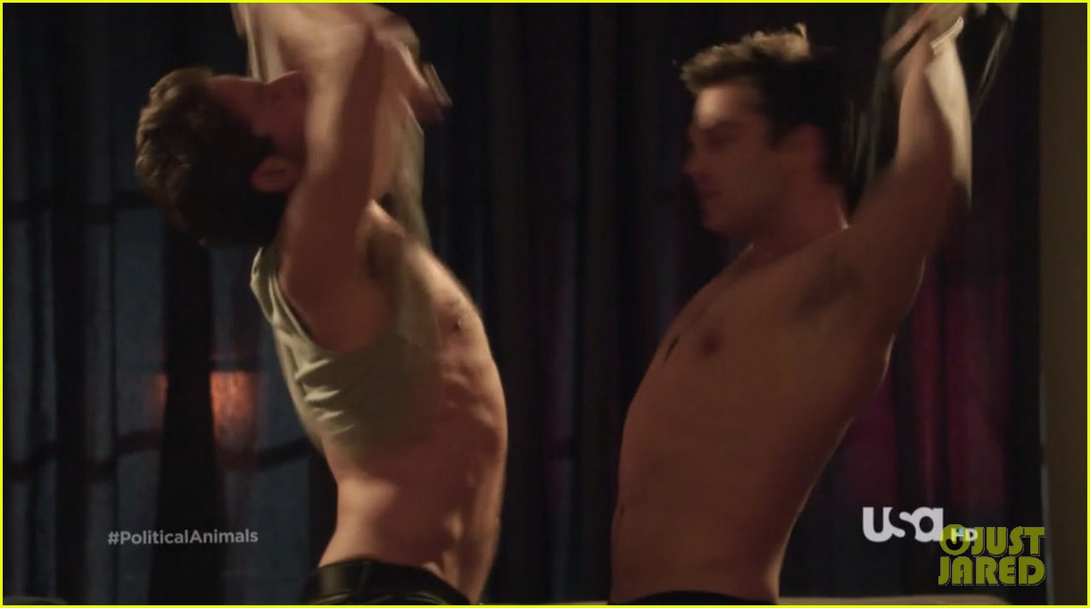 sebastian stan shirtless for political animals 02