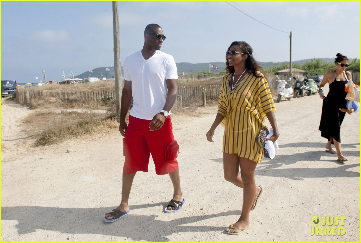 gabrielle union dwyane wade saint tropez vacation 04