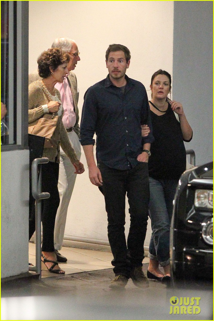 drew barrymore will kopelman dinner with parents 042726871