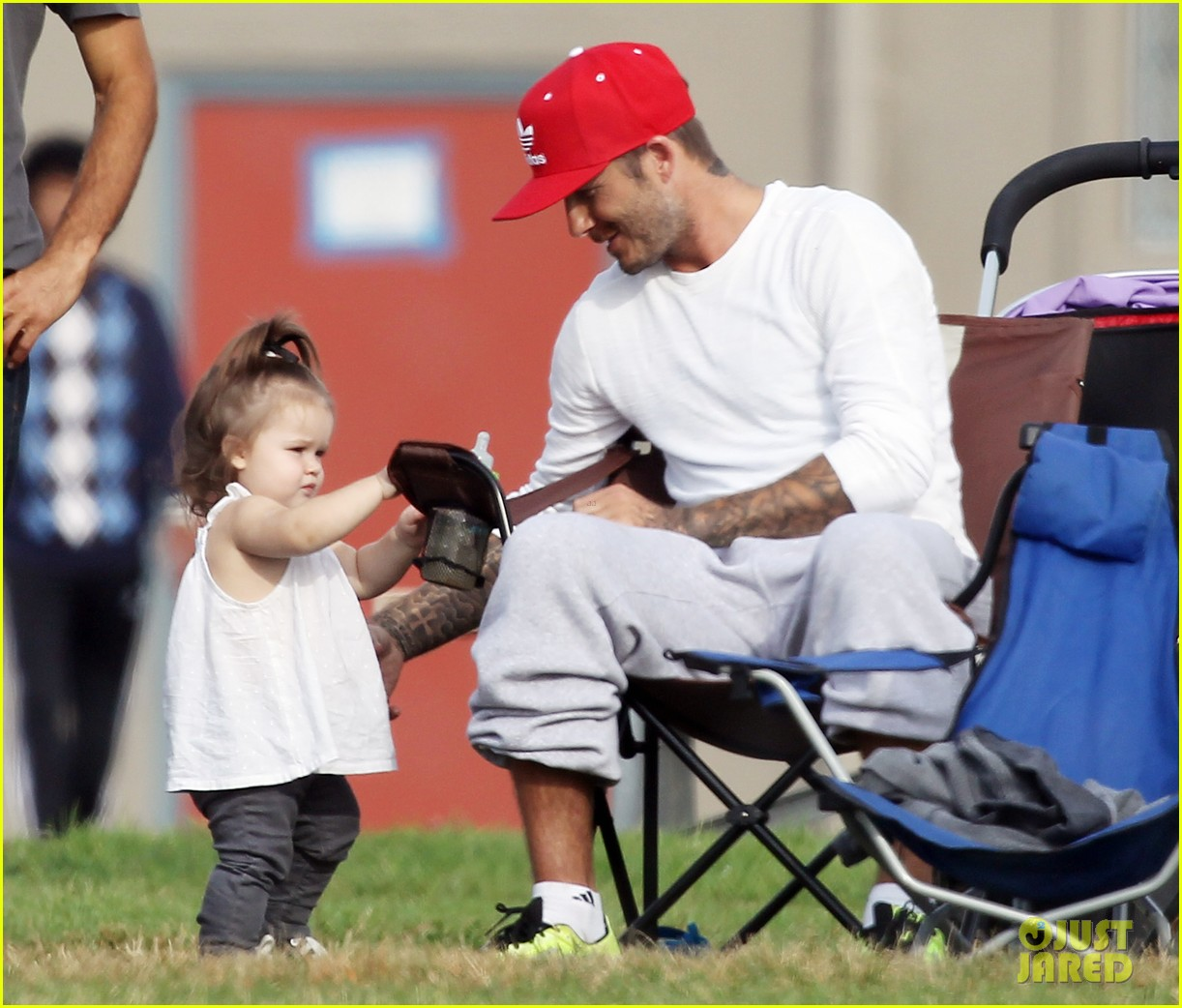 david beckham doting soccer dad 05