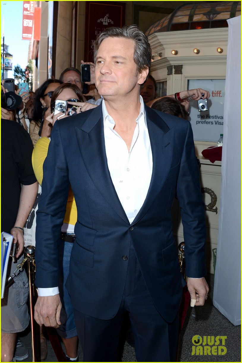 emily blunt arthur newman tiff premiere with colin firth 03