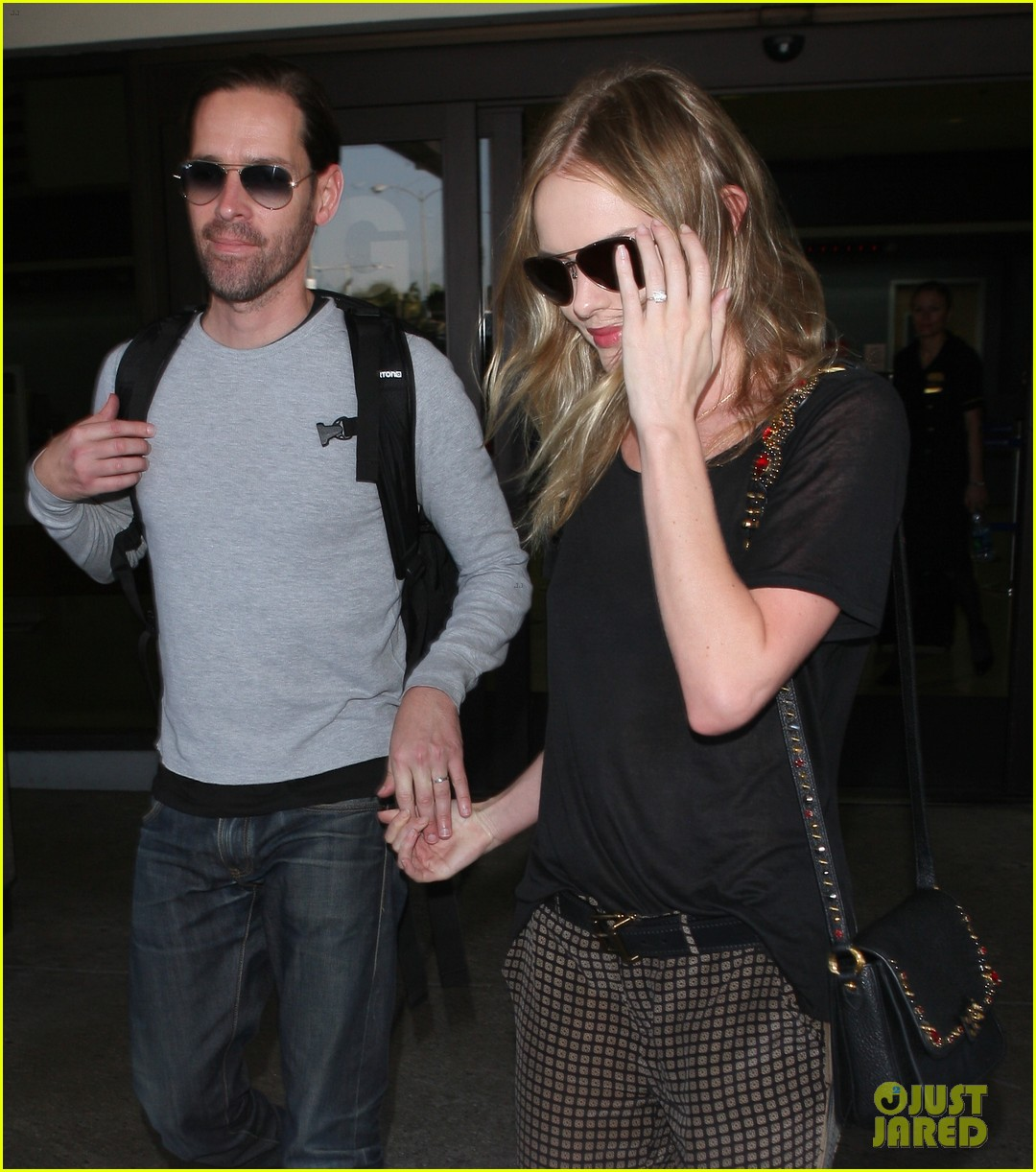 Kate Bosworth & Michael Polish: Farewell, Fashion Week! Kate Bosworth