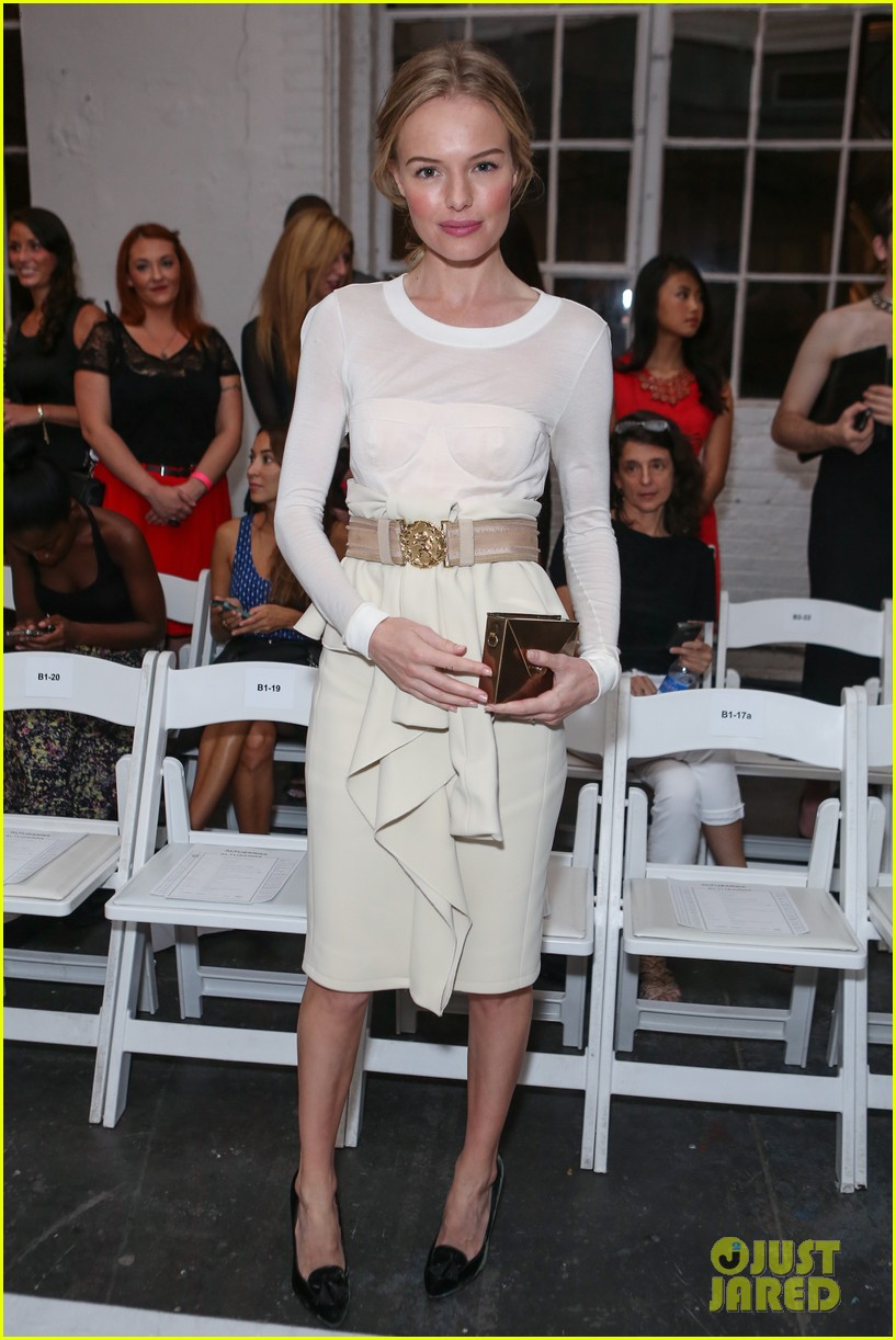kate bosworth michael polish joseph altuzarra fashion show 01