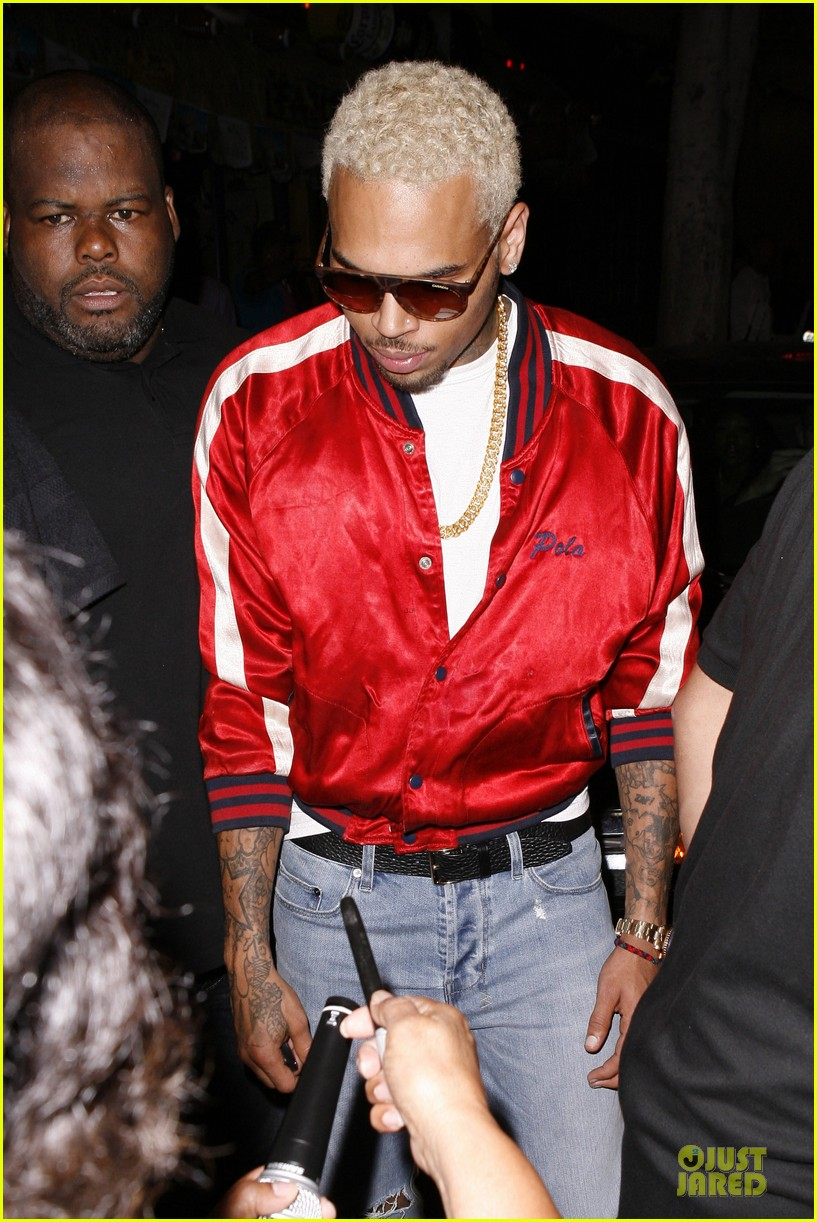 chris brown jenesse back to school fall festival 062715115