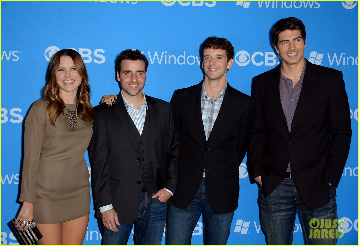 sophia bush brandon routh cbs fall 2012 premiere party 02