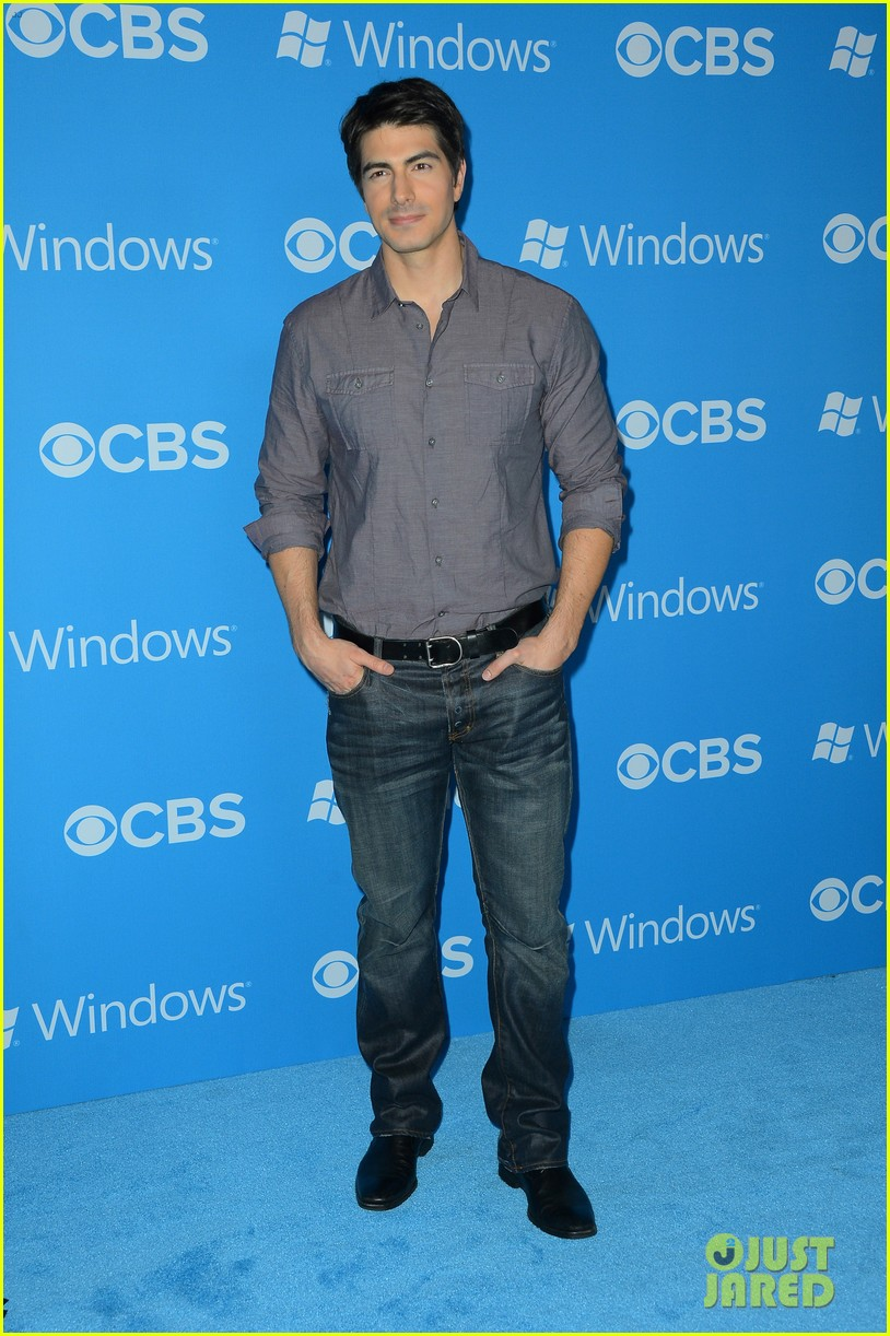 sophia bush brandon routh cbs fall 2012 premiere party 102724603