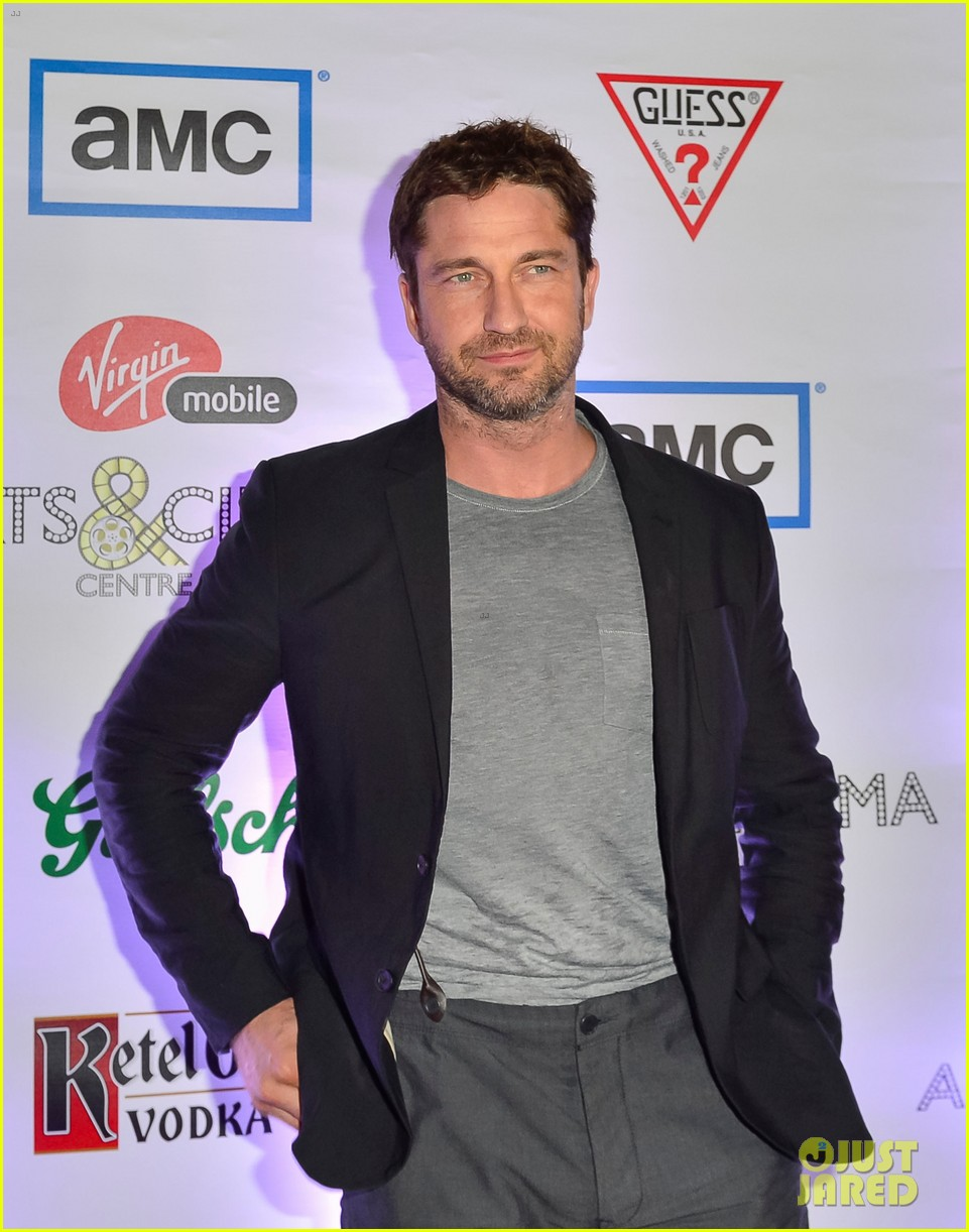 gerard butler iceman tiff after party 02