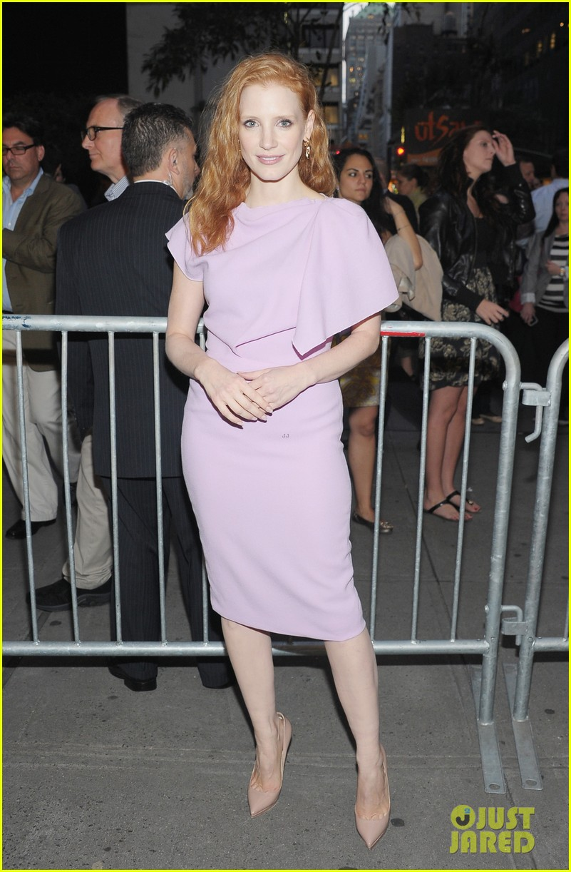 jessica chastain if there is i havent yet opening night 01