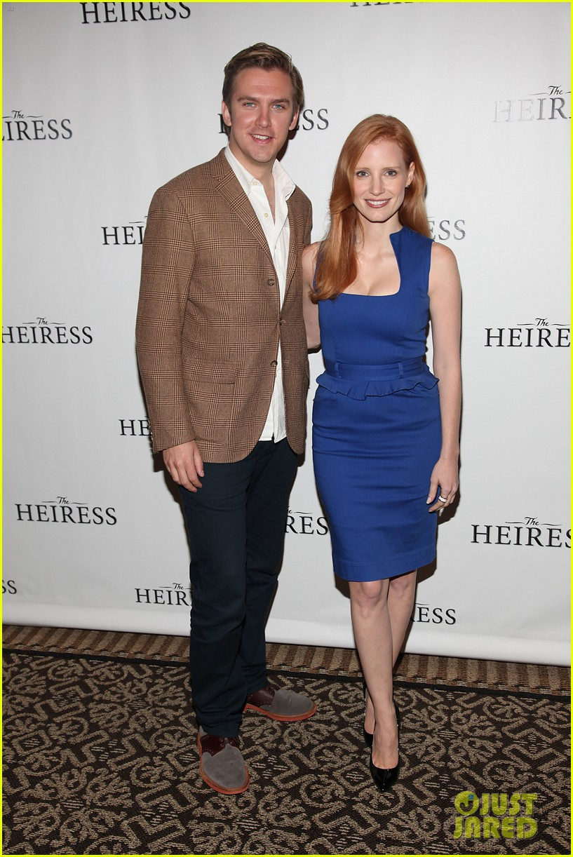 jessica chastain the heiress photo call 07
