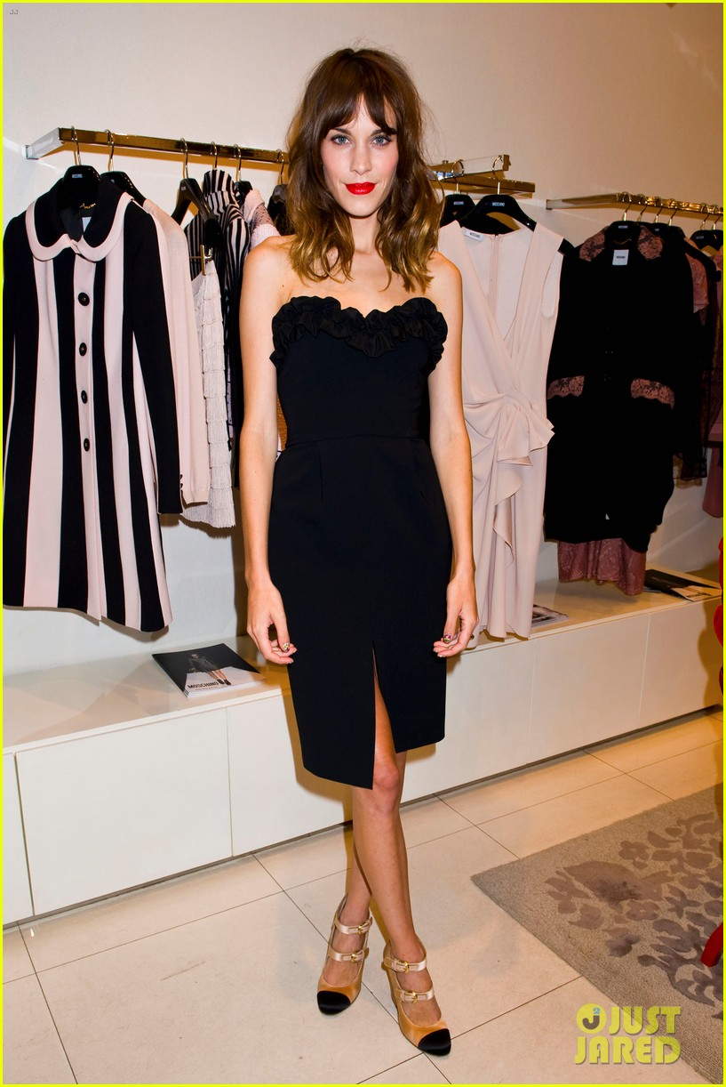 Alexa Chung 2012 Fashion S Night Out