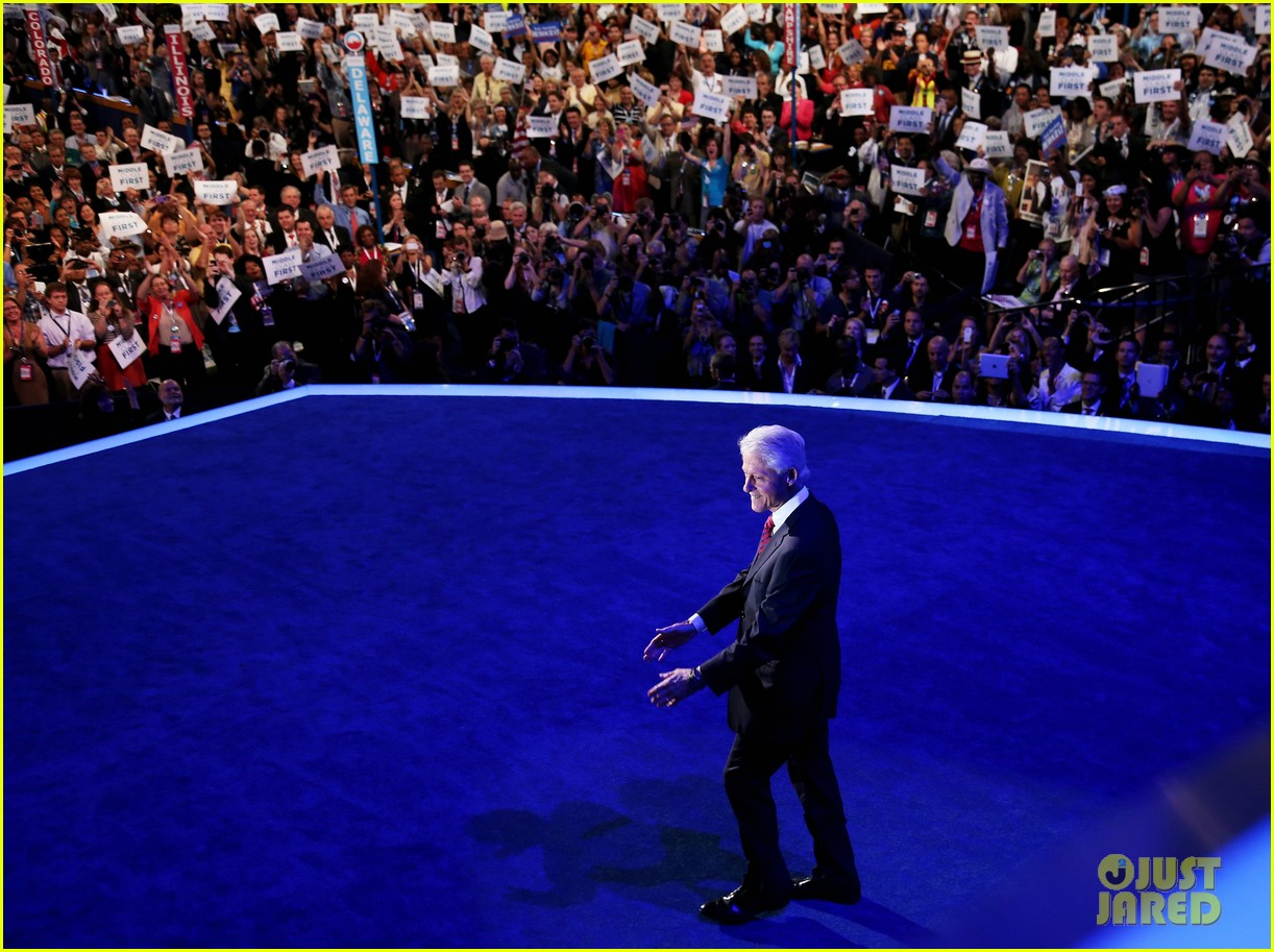 watch bill clinton speech at democratic national convention 16