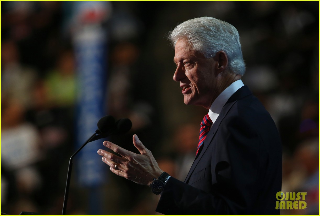 watch bill clinton speech at democratic national convention 30