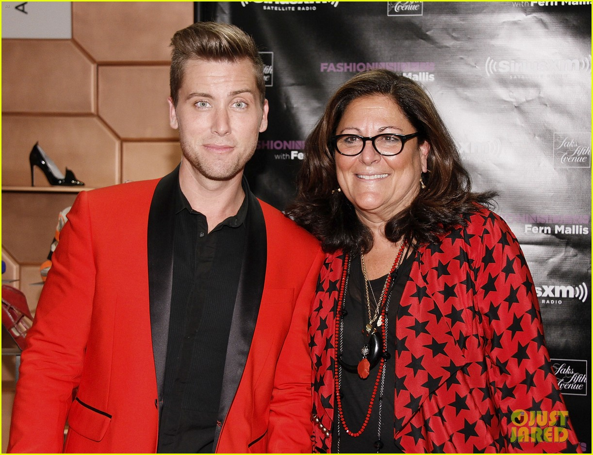 darren criss lance bass saks fashion night out 07