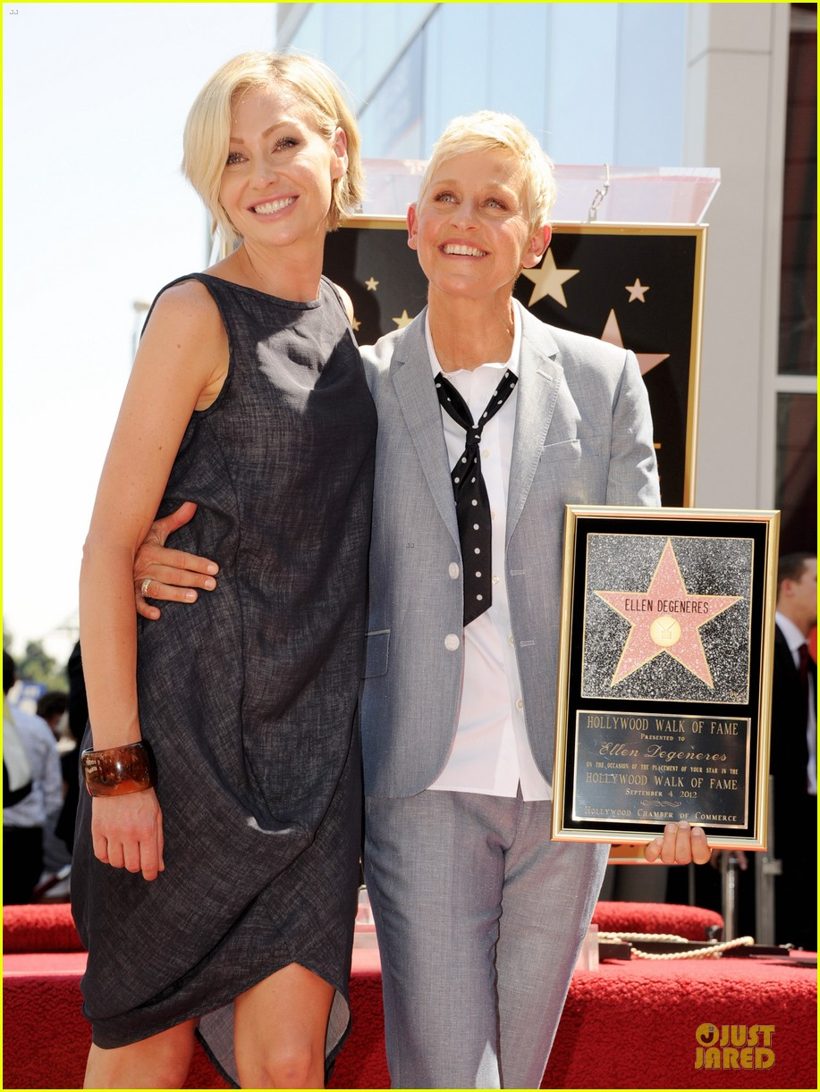 ellen degeneres star hollywood walk of fame 032714172